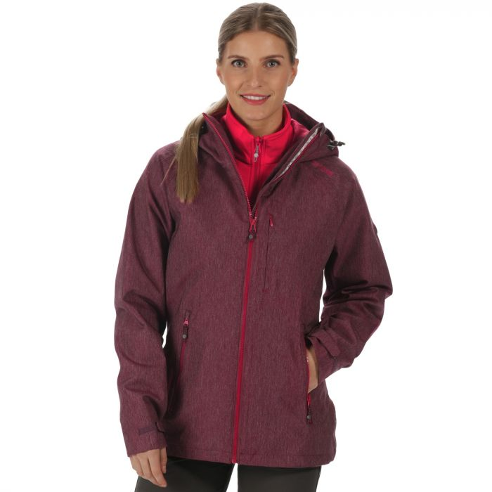 Louisiana III Waterproof 3-in-1 Jacket Fig Lollipop
