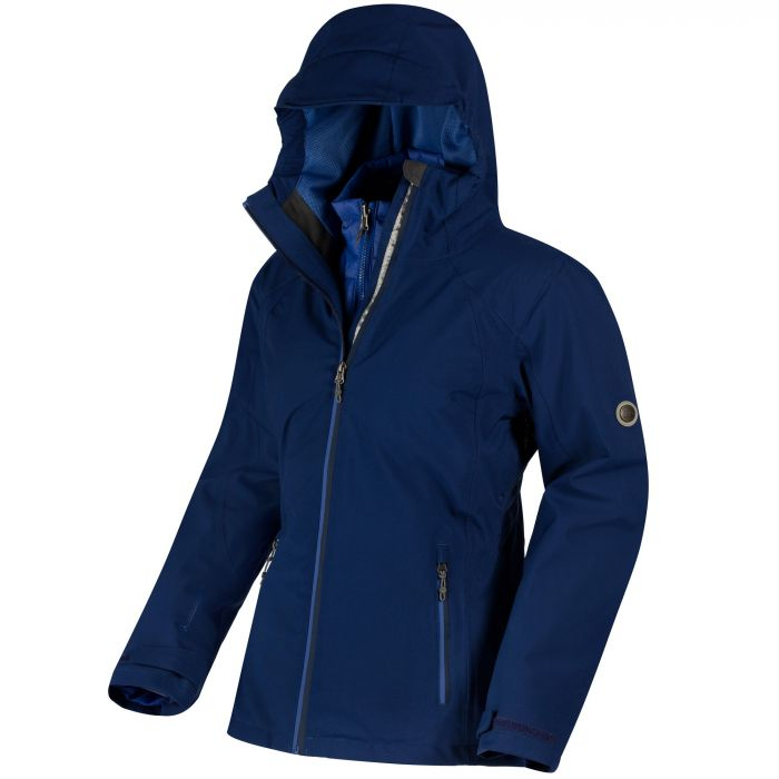 Wentwood II Waterproof 3-in-1 Jacket Twilight Dazzling Blue