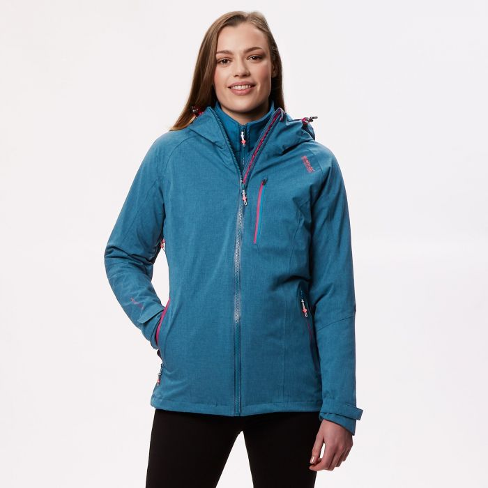 Louisiana IV Waterproof 3 in 1 Jacket Moroccan Blue