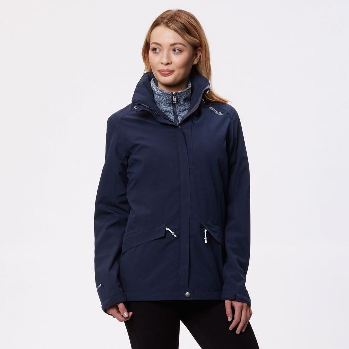 Calyn II Waterproof 3 in 1 Jacket Navy