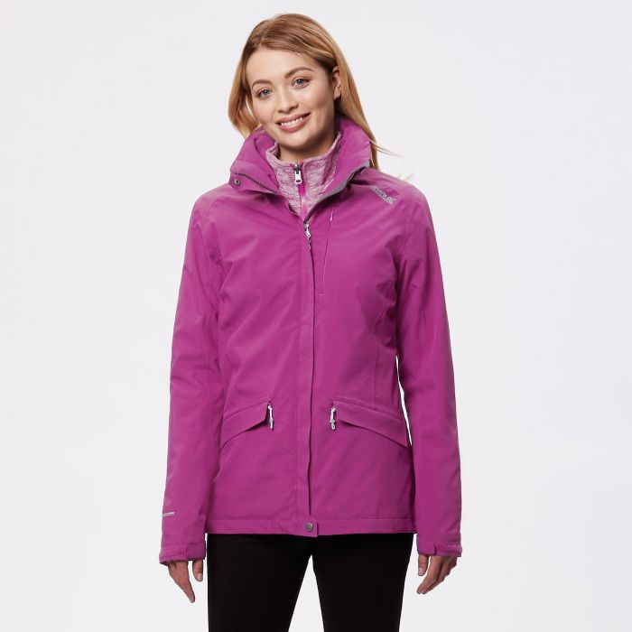 Calyn II Waterproof 3 in 1 Jacket Winberry Vivid Viola