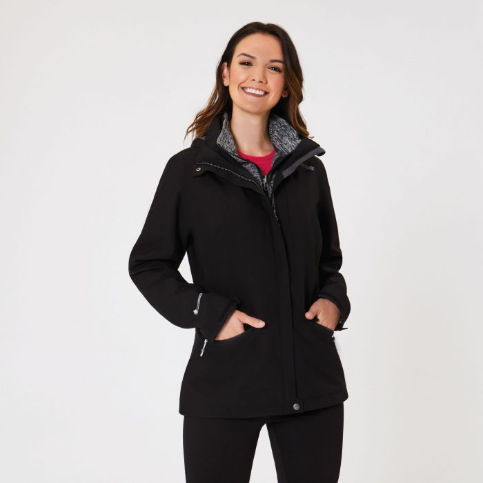 Calyn II Waterproof 3 in 1 Jacket Black