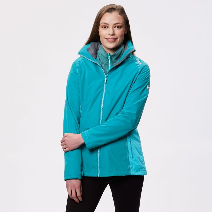Premilla II Waterproof 3 in 1 Jacket Deep Lake Atlantis