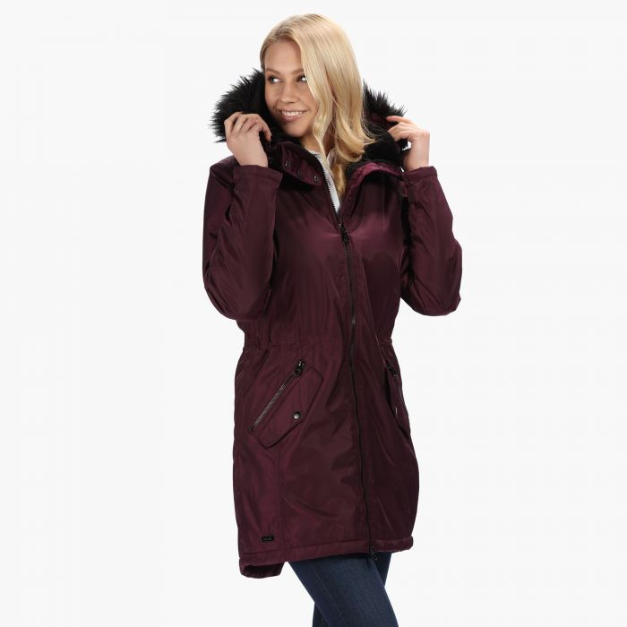 best website ca1e9 c31db Women's Lexia Long Length Waterproof Insulated Parka Jacket Prune