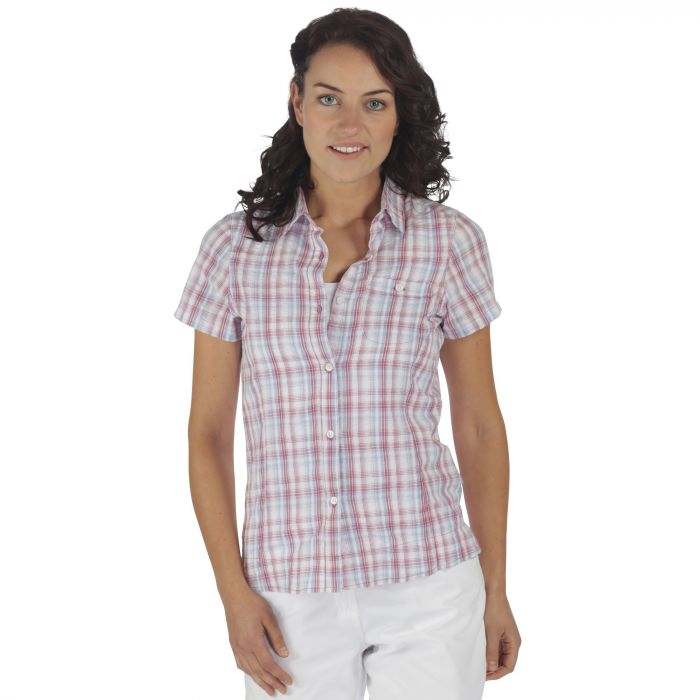 JENNA SHIRT Red Violet