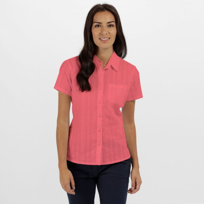 Jerbra II Coolweave Cotton Shirt Desert Rose