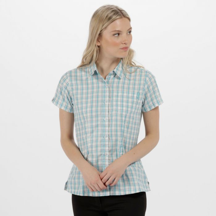 Women's Mindano III Checked Shirt Horizon