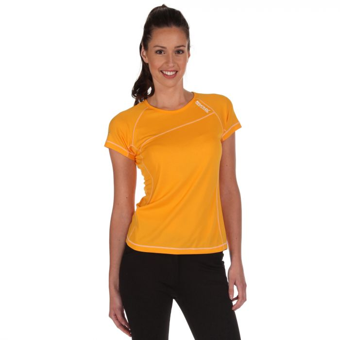 Womens Volito T-Shirts Gold Heat