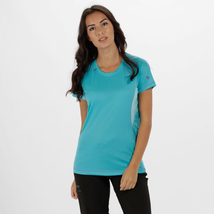 Women's Volito ll Ultra Lightweight T-Shirt Aqua Horizon