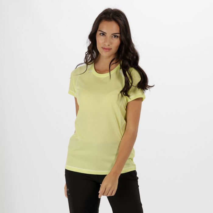 Women's Volito II Ultra Lightweight T-Shirt Lime Fizz