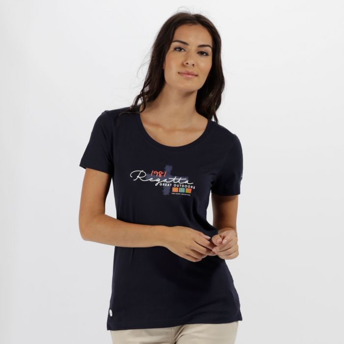 Filandra II Coolweave Cotton T-Shirt Navy