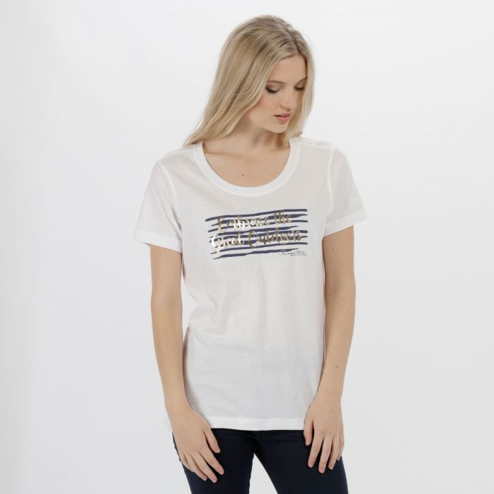Filandra II Coolweave Cotton T-Shirt White