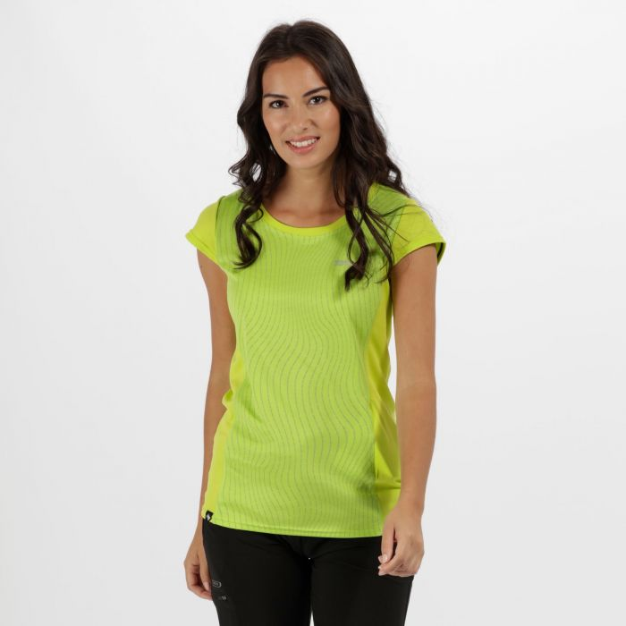 Women's Hyper-Reflect T-Shirt Lime Zest