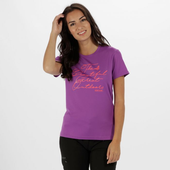 Women's Fingal III Quick Dry T-Shirt Ultra Purple