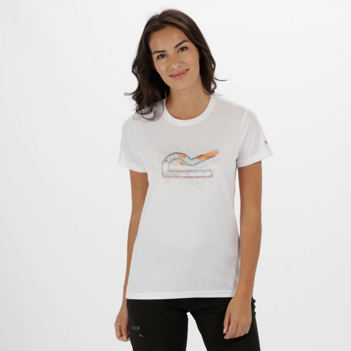 Women's Fingal III Quick Dry T-Shirt White