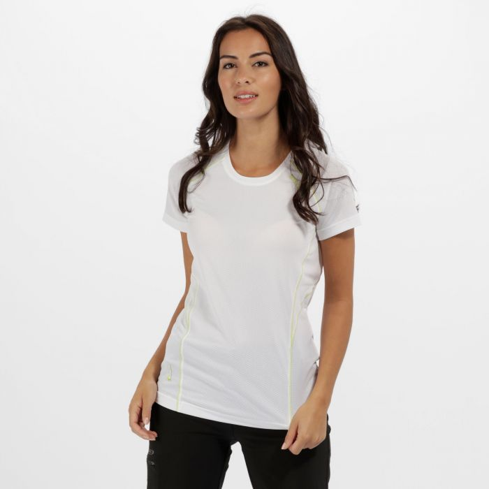 Women's Virda II Quick Dry T-Shirt White