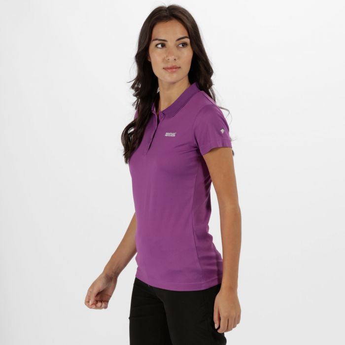 Women's Maverick IV Polo Shirt Ultra Purple