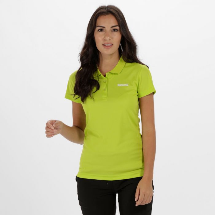Women's Maverick IV Polo Shirt Lime Zest