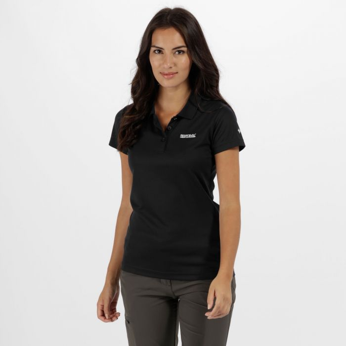 Women's Maverick IV Polo Shirt Black