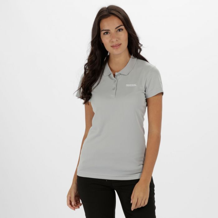 Women's Maverick IV Polo Shirt Light Steel