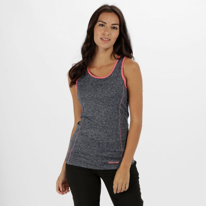 Vashti II Stretch T-Shirt Rock Grey