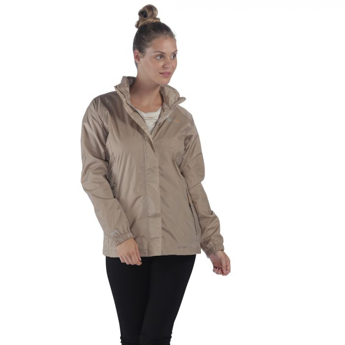 Joelle IV Lightweight Waterproof Jacket Moccasin