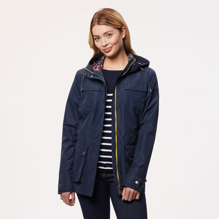 Nerine Lightweight Waterproof Jacket Navy