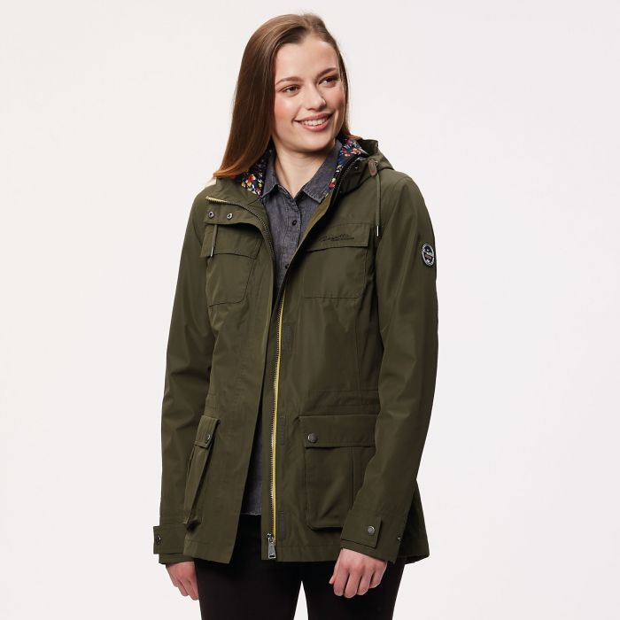 Nerine Lightweight Waterproof Jacket Ivy Green