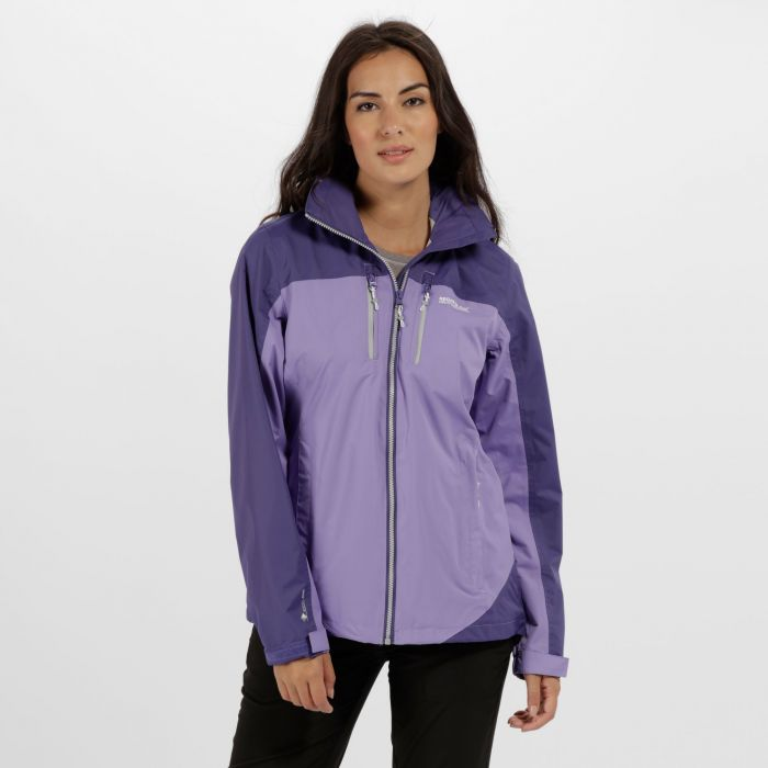 Women's Calderdale II Waterproof Shell Jacket Paisly Elderberry
