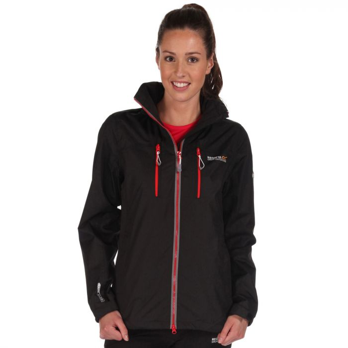 Women's Calderdale II Waterproof Shell Jacket Black