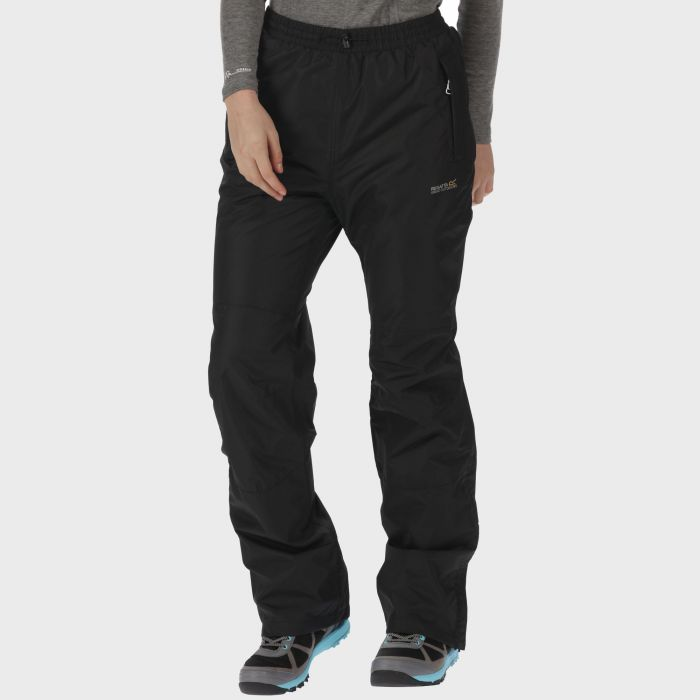 Amelie III Breathable Waterproof Overtrousers Black