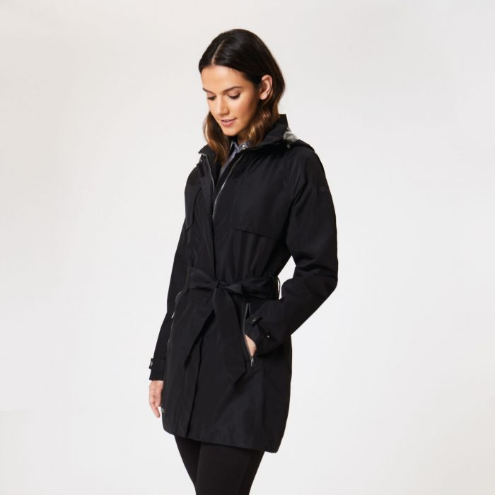 Gracyn Lightweight Waterproof Jacket Black