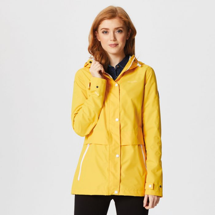 Bayleigh Lightweight Waterproof Jacket Glowlight Yellow
