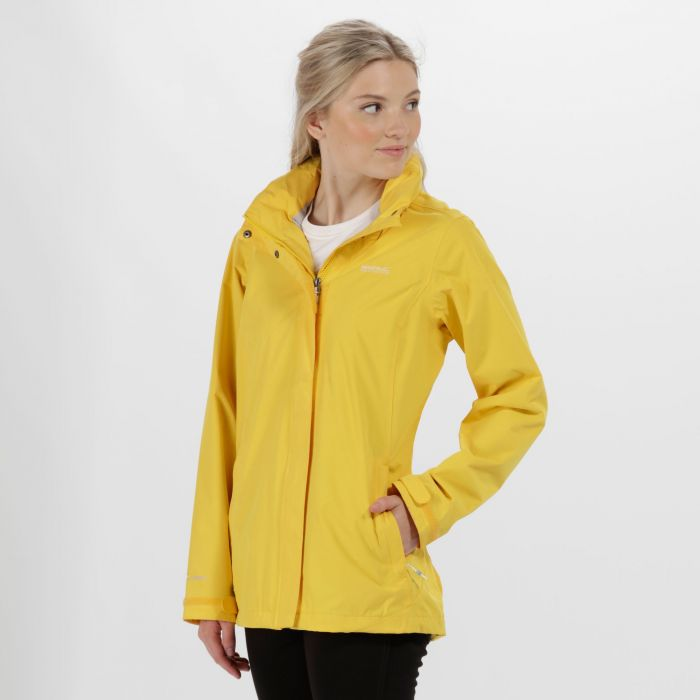 Daysha Waterproof Shell Jacket Lifeguard Yellow