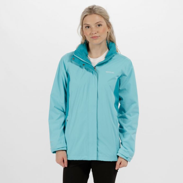Daysha Waterproof Shell Jacket Horizon Aqua