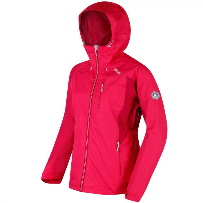 Cross Penine III Hybrid Waterproof Jacket Bright Blush Dark Cerise
