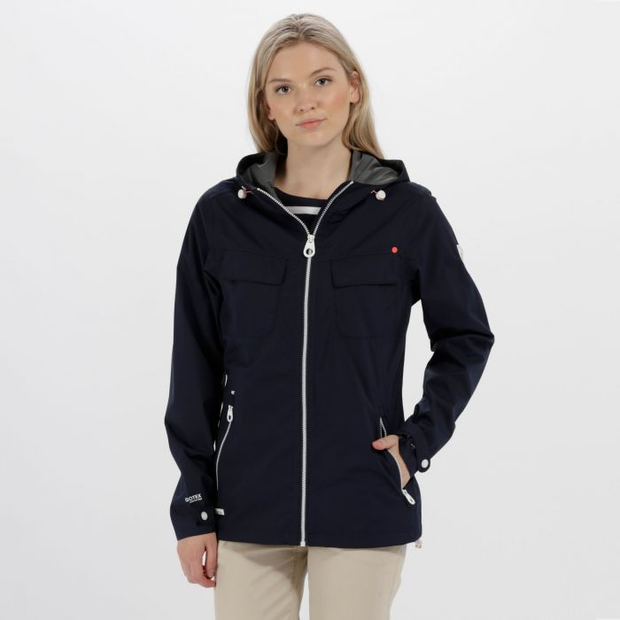 Jakeisha Waterproof Shell Jacket Navy