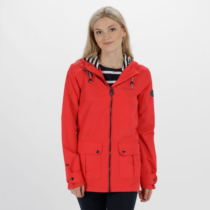 Bayeur II Lightweight Waterproof Hooded Jacket Lollipop