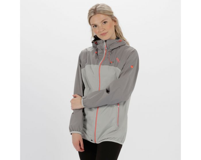 Womens Imber Ii Lightweight Waterproof Jacket Rock Grey Light Steel