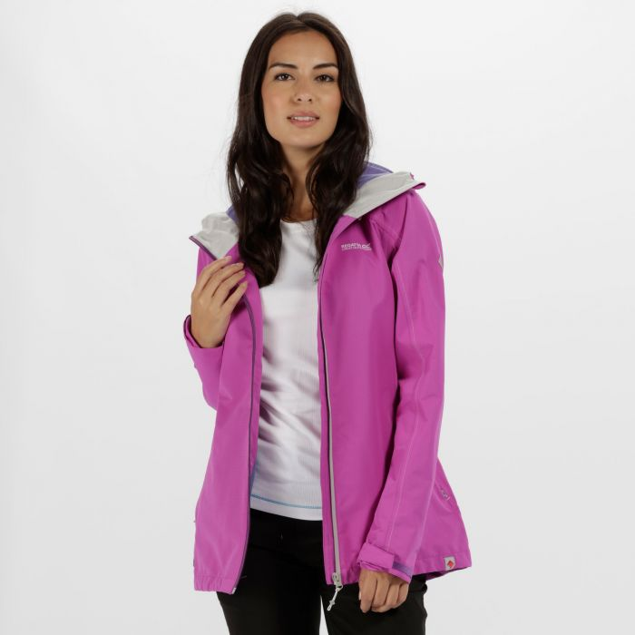 Hamara II Waterproof Shell Jacket Ultra Purple