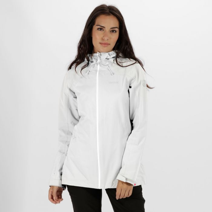Hamara II Waterproof Shell Jacket White
