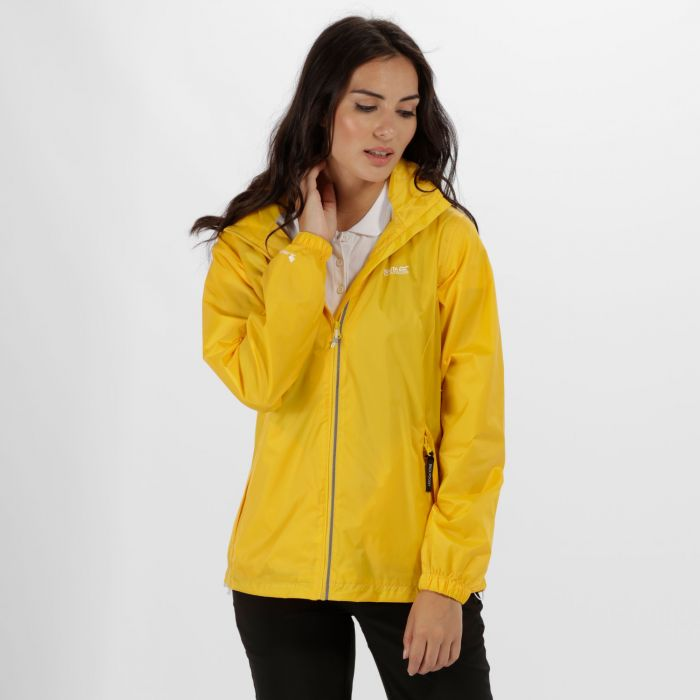 Corinne IV Waterproof Shell Jacket Lifeguard Yellow