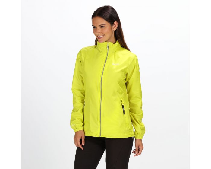 Womens Corinne Iv Lightweight Waterproof Jacket Neon Spring