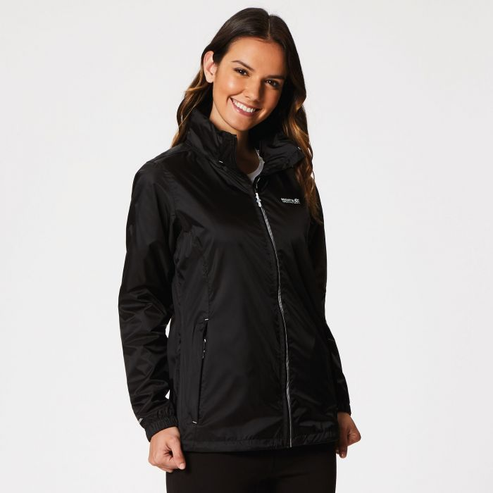 Corinne IV Waterproof Shell Jacket Black