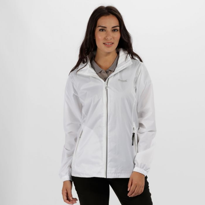 Corinne IV Waterproof Shell Jacket White