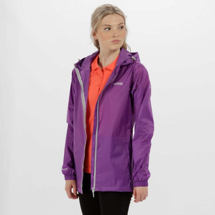 Women's Pack-It Jacket III Waterproof Packaway Ultra Purple
