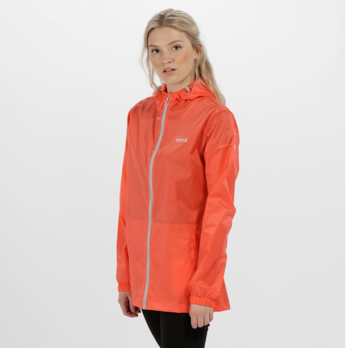 Women's Pack-It Jacket III Waterproof Packaway Neon Peach