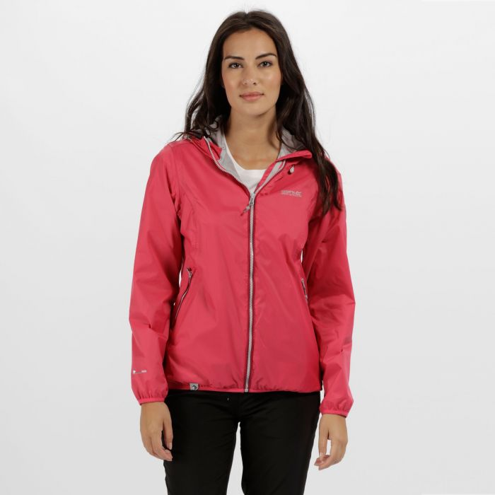 Jazmine II Waterproof Shell Jacket Bright Blush