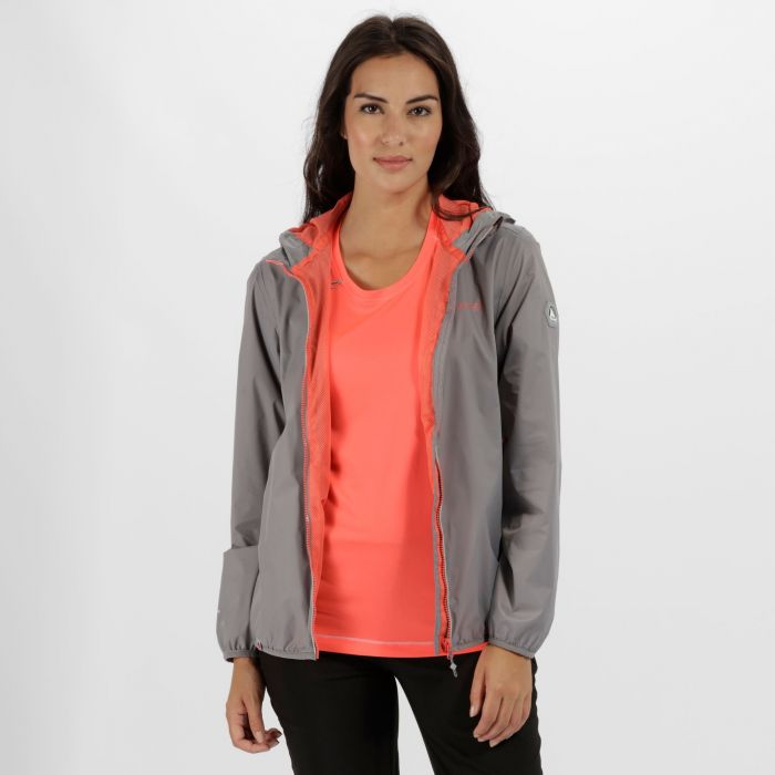 Jazmine II Waterproof Shell Jacket Rock Grey