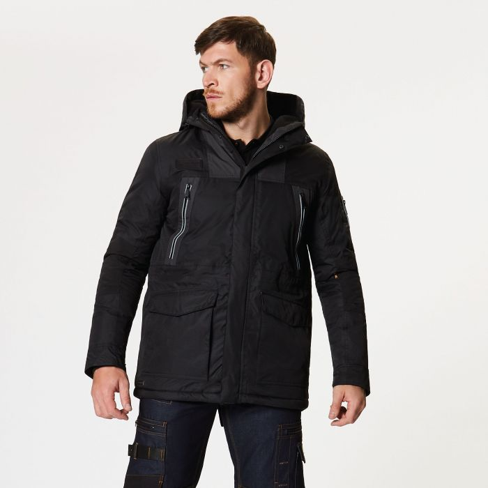Martial Insulated Jacket Black Ash